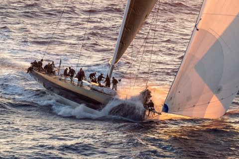 Great performance of Magic Carpet 3 at the Rolex Giraglia offshore race