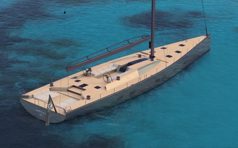 A new magnificent Wally 101-foot sailing cruiser-racer sold