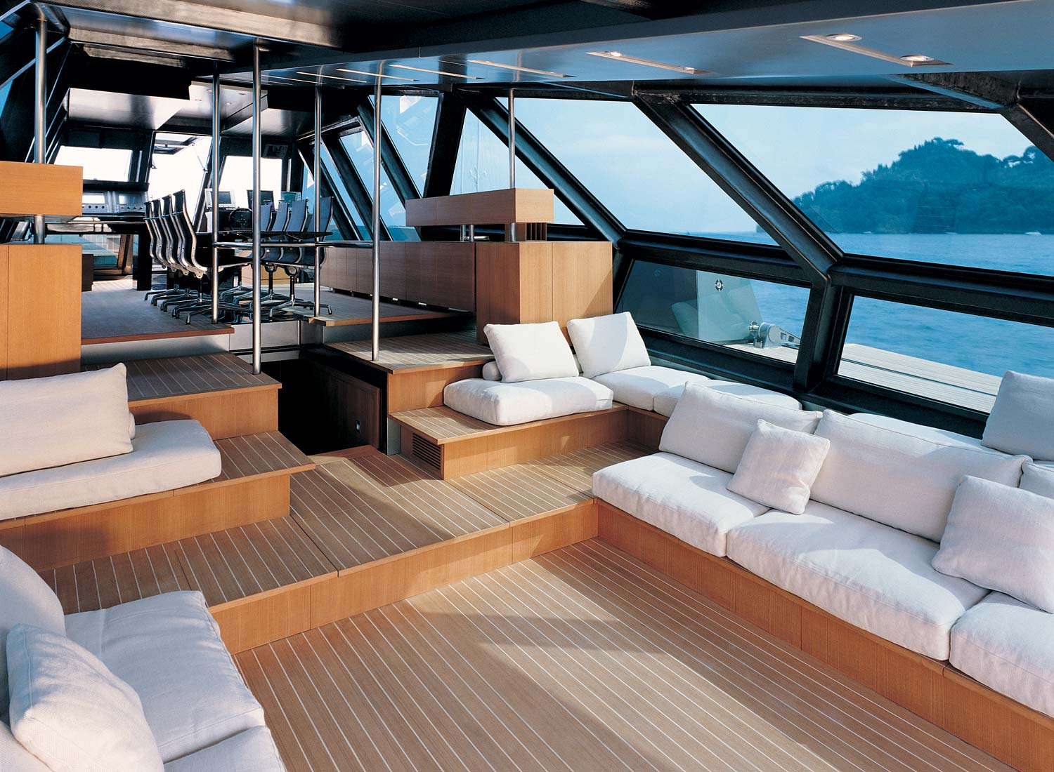 Wally 118 for Ascenseur interieur
